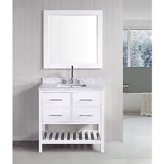 Shop For 30 Inch Belvedere Bathroom Vanity With Marble Topget Amazing 30 Bathroom Vanity With Top Review