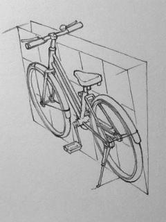 自転車の描き方の画像 2 3 湯浅誠の雑記帳 自転車 ぶどう イラスト 色鉛筆 イラスト