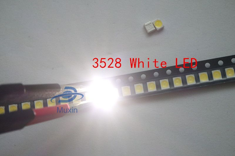 1210 PLCC4 2-CHIP ROSSO RED 10 LED SMD 3528
