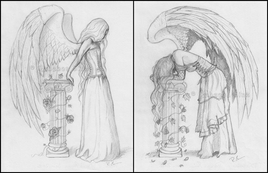 ElvenstarArt Fantasy Fairy And Gothic Art Sketch Gallery