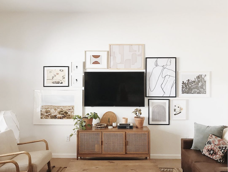My Scandinavian Home A Relaxed Tucson Home In Sun Kissed Earthy Tones Home Decor Home Decorating Around A Tv