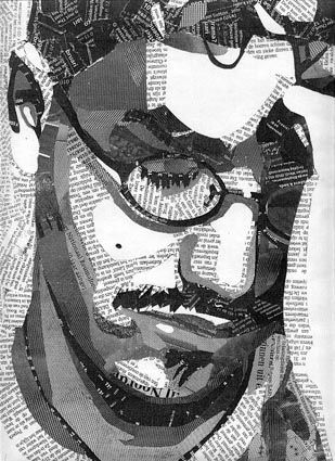 collage portrait art du collage mixed media collage face collage collage artists