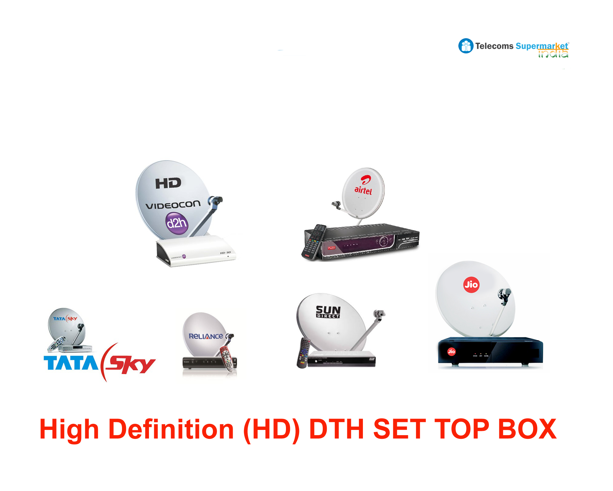 DTH CONNECTION Supermarket INDIA (With images