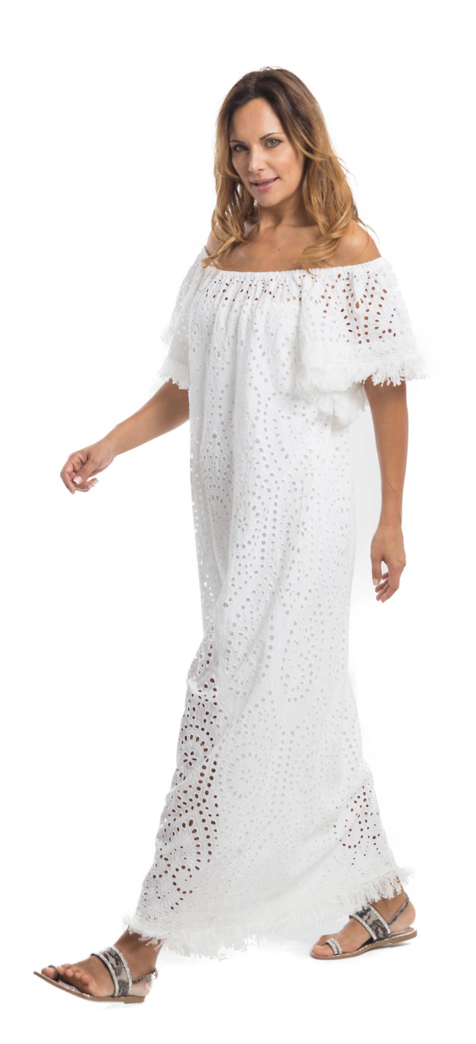 more photos 8aabb ff47b White sangallo lace dress | Summer 2018 - The Orange Period ...