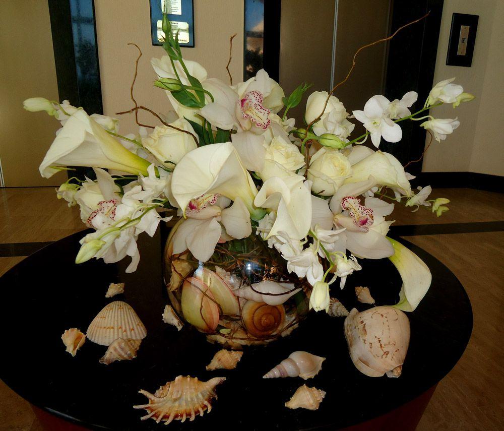 Cymbidium Orchid Centerpieces