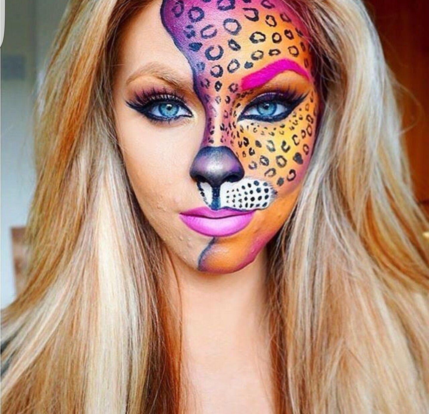Lisa Frank idea for Halloween … Cool halloween makeup
