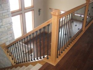 Best Custom Wood Railings Mn Minneapolis Finish Carpentry 400 x 300
