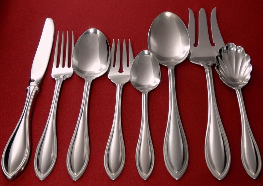 Oneida MOZART Deluxe Stainless Glossy Silverware Flatware Pieces CHOICE