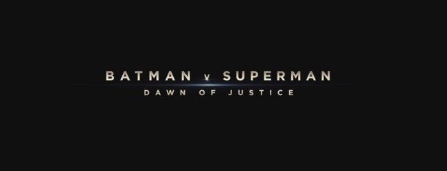 Retour sur le panel #BatmanVSuperman : L'aube de la justice à la San Diego Comic Con #SDCC2015