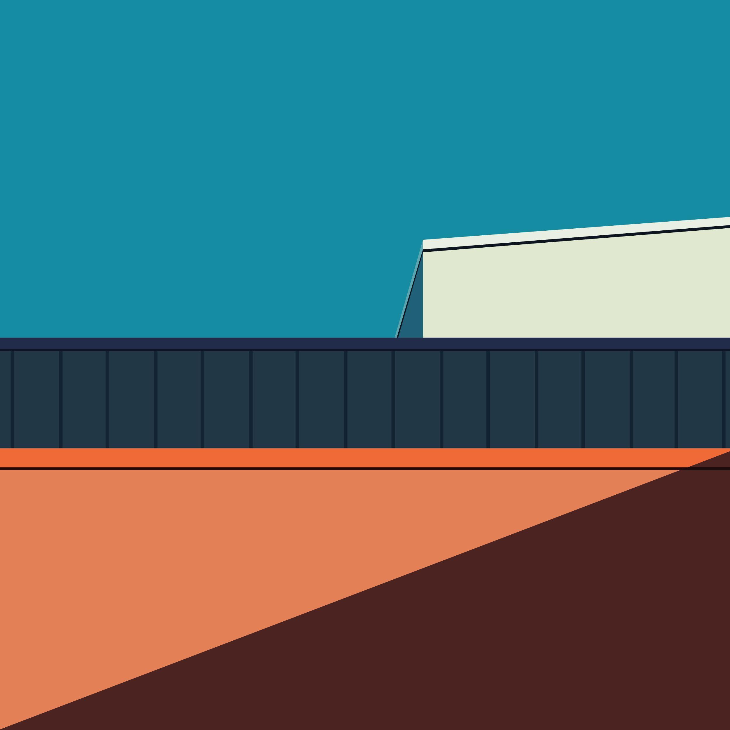 Colorful Minimalist Design: Minimalist Building. #building #minimalism #design