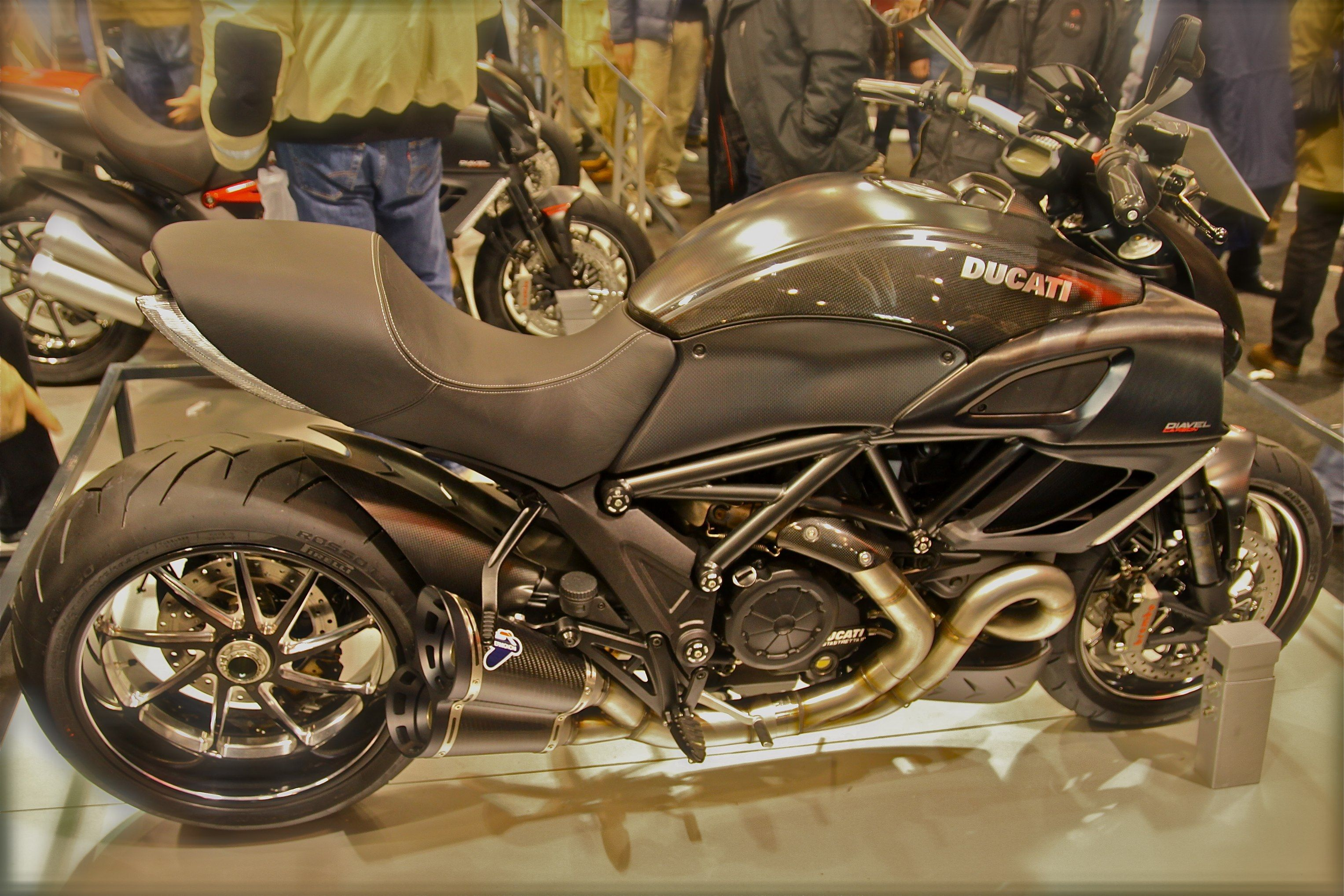 Anyone Recognized This Seat Motorcycles Ducati Diavel