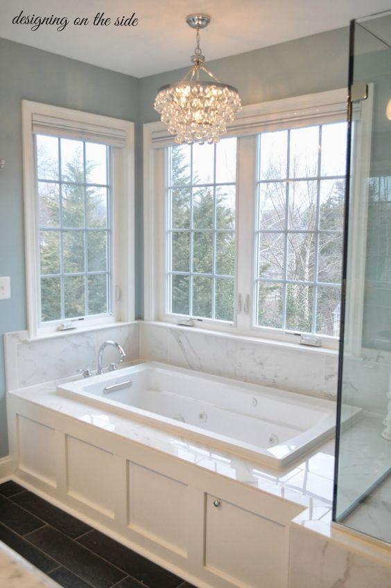 Master bath marble tile sw rain crystal chandelier tile that master bath marble tile sw rain crystal chandelier tile that looks like aloadofball Images