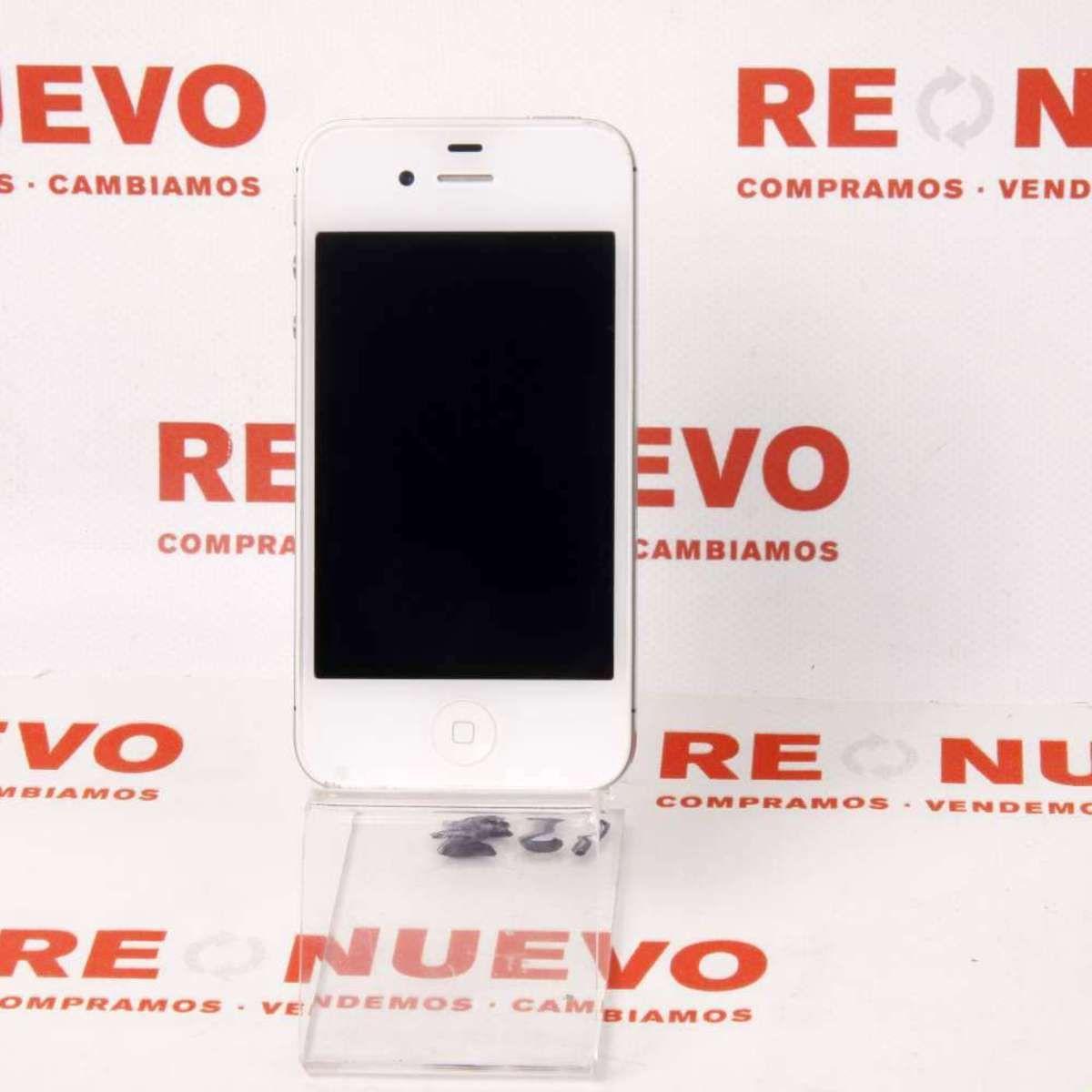 Móvil IPHONE 4S 16GB Libre E269410# Iphone 4# De segunda mano# APPLE
