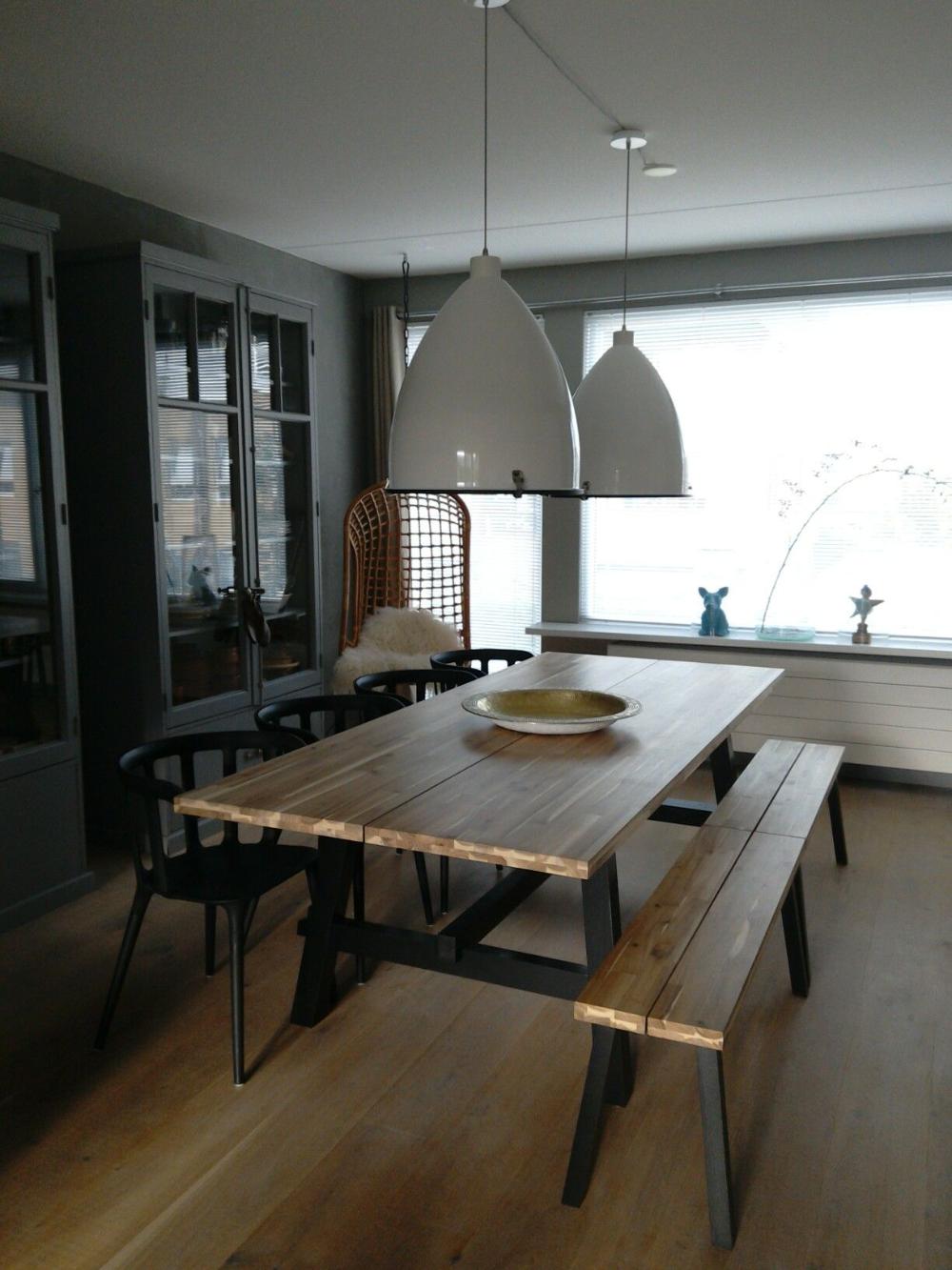 Skogsta Dining Table Google Search Ikea Dining Room Ikea Dining Dining Table With Bench