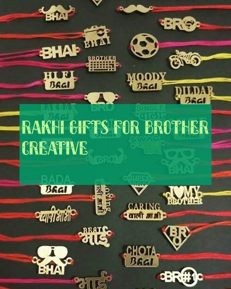 Rakhi Gifts For Brother Creative Rakhi Geschenke Für Bruder Kreativ