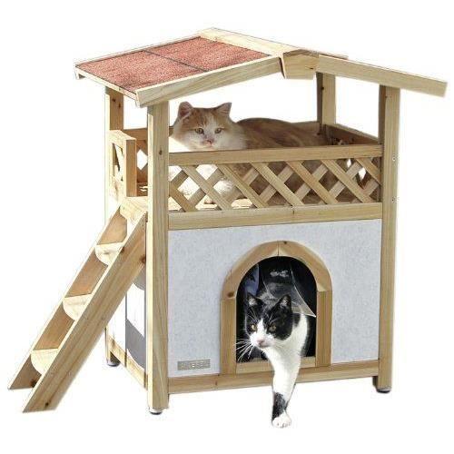 cabane pour chat achat vente cabane pour chat pas cher cdiscount cabane chachat. Black Bedroom Furniture Sets. Home Design Ideas