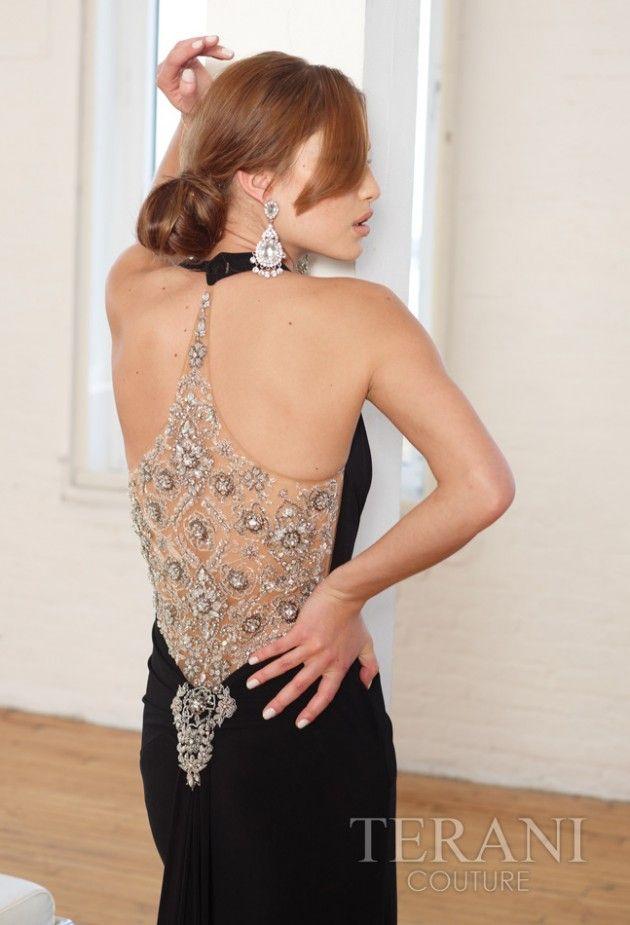 Increibles vestidos de fiestas largos    Moda sin espalda