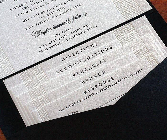 Beautiful Customized Wedding Invitation Set With Tiered