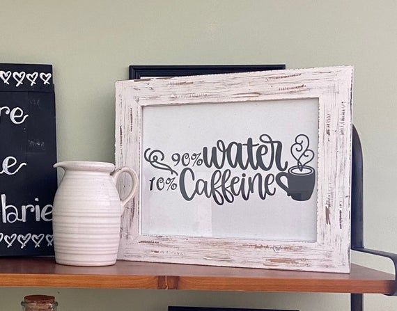 90 Percent Water 10 Percent Caffeine Gilmore Girls Inspired | Etsy