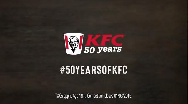 kfc 50th anniversary