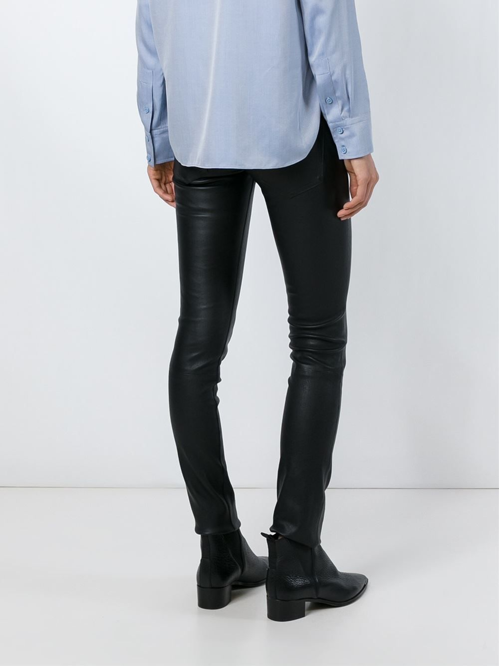 #helmutlang #leather #pants #jeans #woman #new #fashion www.jofre.eu