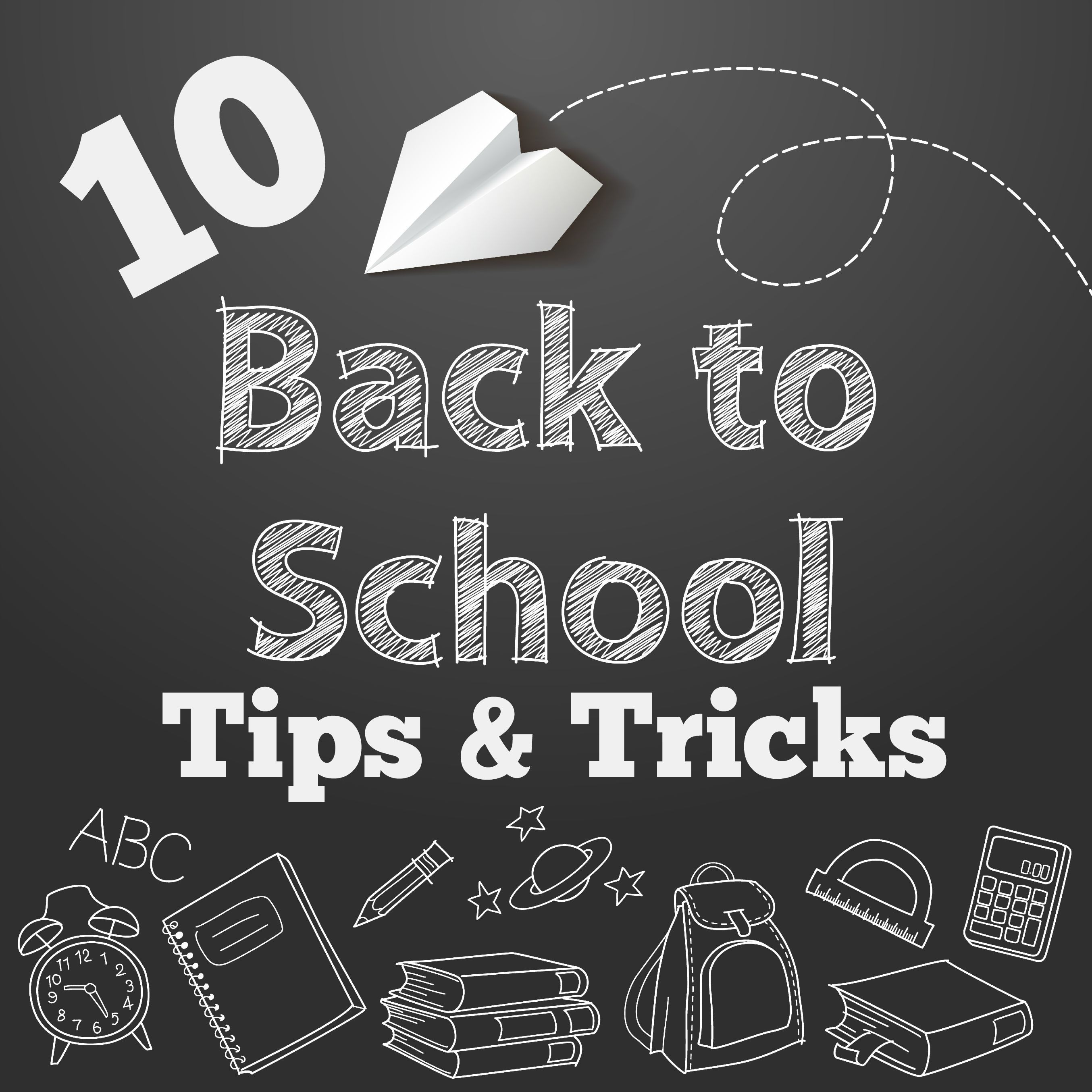 10 back to school tips to get your organized and ready to send the kids back to…