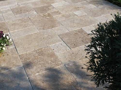 Travertin Terrassenplatten travertin terrassenplatten aussenfliesen gartenfliesen garten