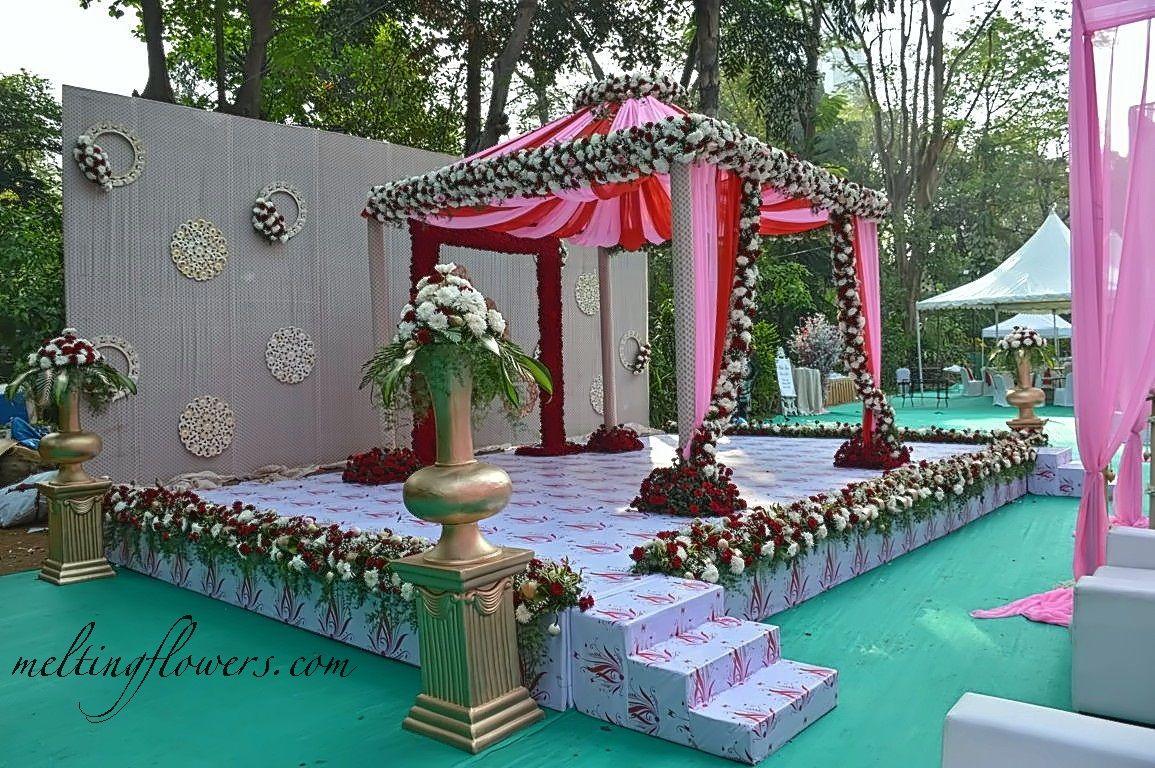 Hotel Taj West End Bengaluru Recently Decorated For A Wedding Weddinghotels Weddingresorts Weddingvenues Themew Wedding Hall Banquet Hall Wedding Venues