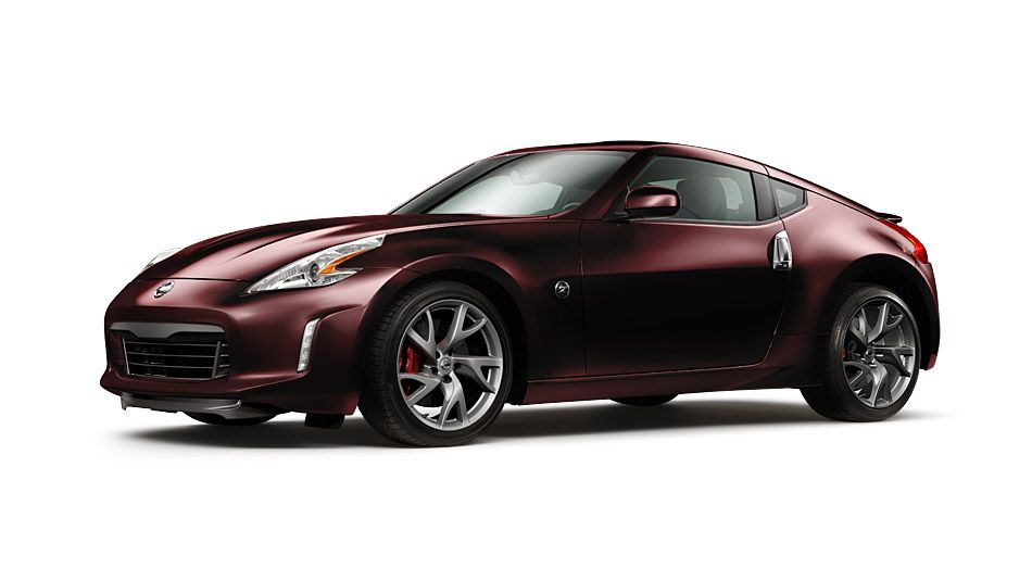 Wish List: 2014 Nissan 370Z® Sports Car Photos | Nissan USA   In Black