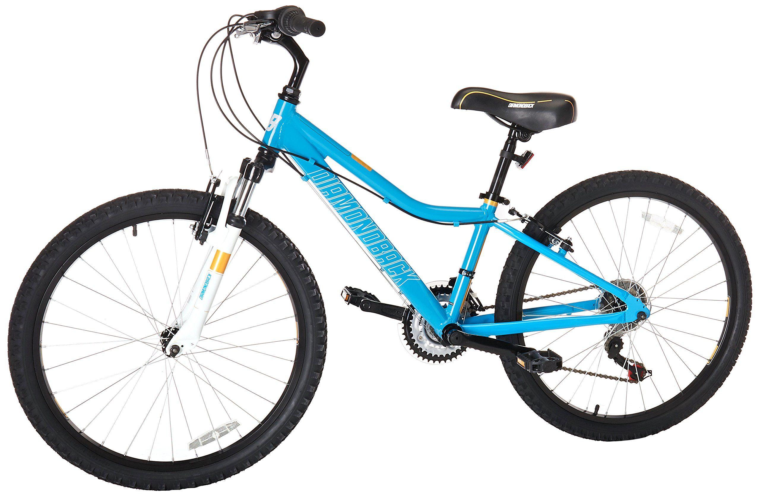 Diamondback Bicycles Lustre 24 Kids Mountain Bike 24 Wheels Blue