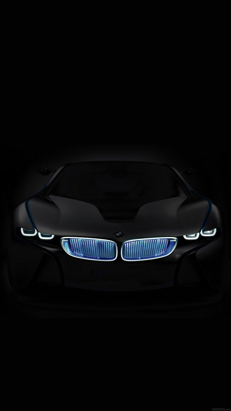 Bmw In Dark Car Art Wallpaper Hd Iphone Mobil