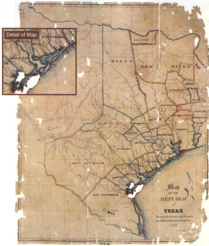 Early Texas Maps | Business Ideas 2013