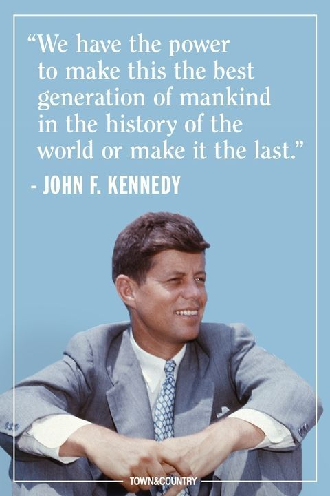 12 JFK Quotes That Prove His Wisdom is as Legendary as His Presidency #historyoftheworld