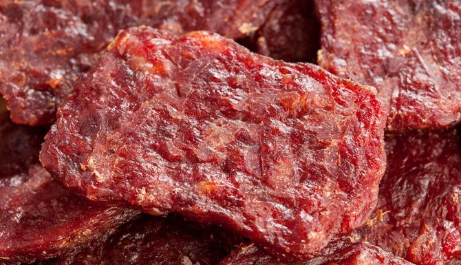Chimayo Beef Jerky 2lbs Top Or Bottom Round 4 To 5 Limes 1 2 To 1 Chipotle Chile In Adobo Plus 2t Of The Sauce Jerky Recipes Beef Jerky Recipes Beef Jerky