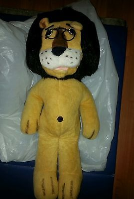 24-VINTAGE-HUGE-BIG-HUBERT-THE-LION-HARRIS-BANK-STUFFED-ANIMAL-FAIR-PLUSH-TOY