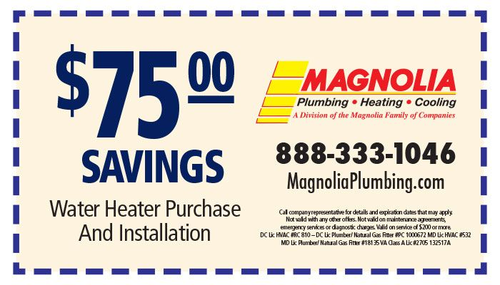Savings On Your Water Heater Replacement Print Out This Coupon