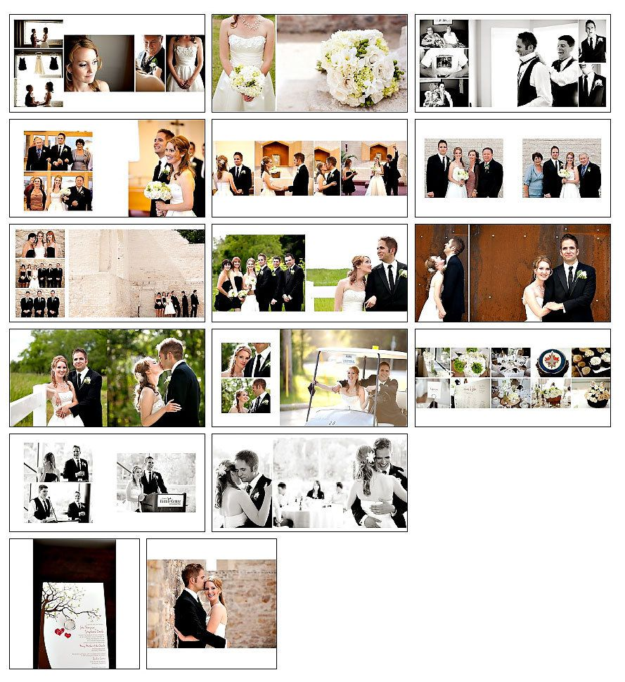 Wedding Album Template   Classic Design 1   WHCC Album Template   12x12 And  10x10.  Free Album Templates