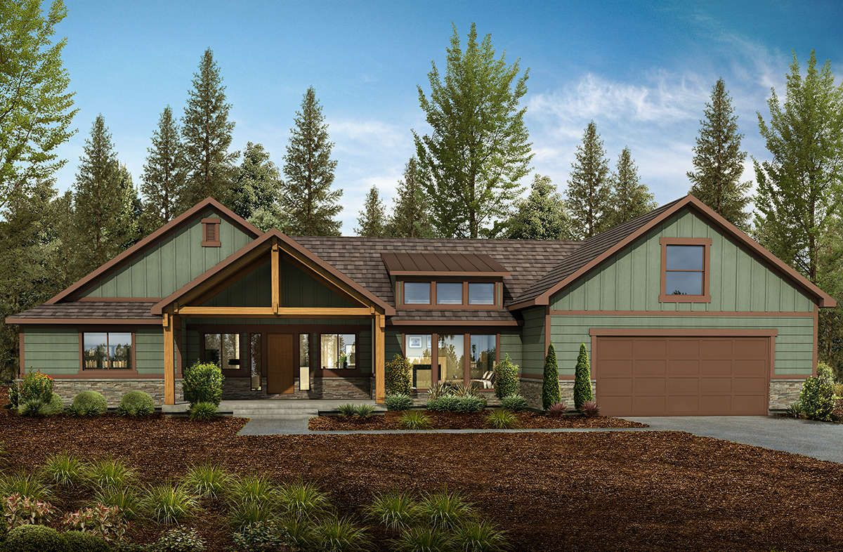 House Plan 7306 00001 Northwest Plan 2 918 Square Feet 4 Bedrooms 3 5 Bathrooms Mountain House Plans Craftsman Style House Plans Craftsman House Plans