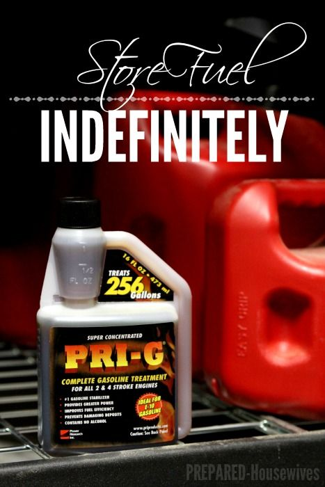 You Can Now Store Fuel Indefinitely And Have The Peace Of Mind Your Generator Will Work When You Need It Mos Emergency Prepping Survival Prepping Fuel Storage