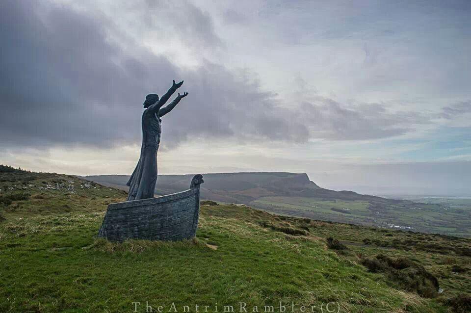 DANU  the Tuatha Dé Danann. Manannan Mac Lir in County Londonderry by Antrim Rambler