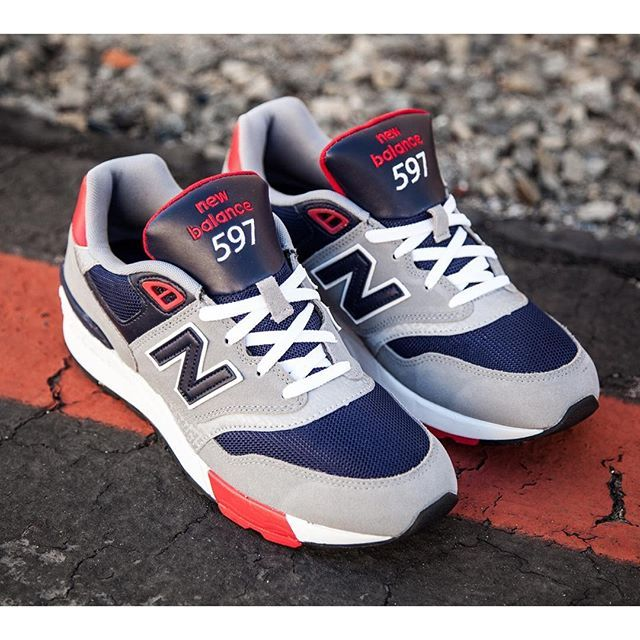 Image result for New Balance Men 597 on feet | Balancing Act | Pinterest |  Street styles