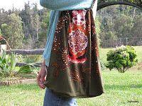 T shirt purse