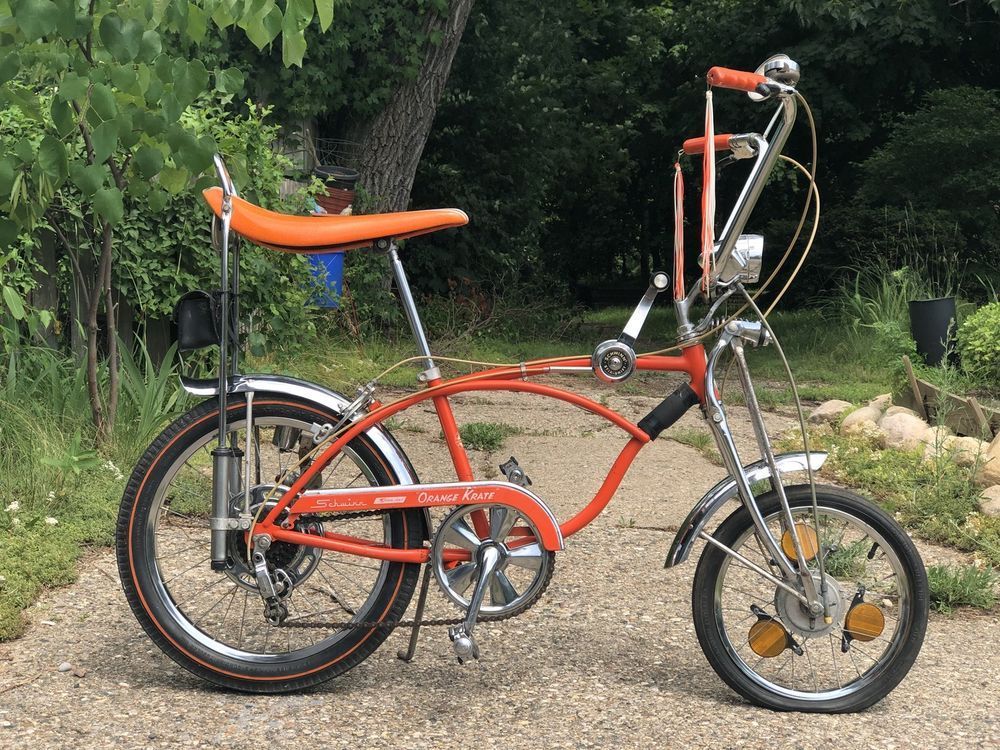 4fcb40ca90a Schwinn Orange Krate, 1969, 5-Speed bicycle Sting Ray Speedo Tool Pouch  Drum #Schwinn