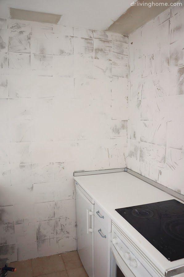 Como Tapar Azulejos Banos Pinterest Azulejos Tapas Y Cocinas - Azulejos-de-cocina-pintados