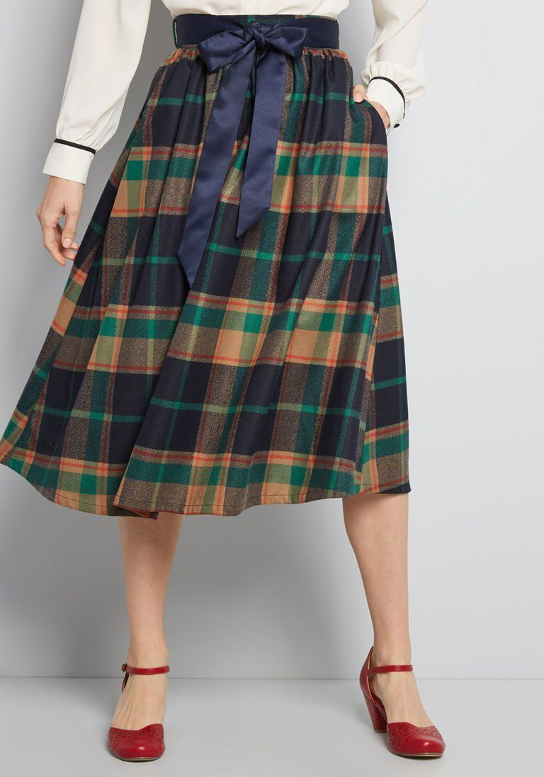 bd6ceb159b Particularly Poised A-Line Skirt in 2019 | Products | A line skirts ...