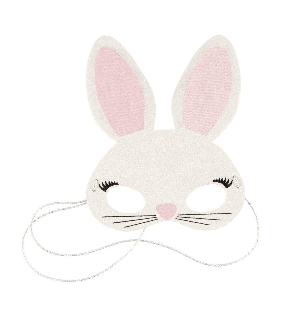 Rabbit Mask by H | Kids clothes | Pinterest | Clase de español ...