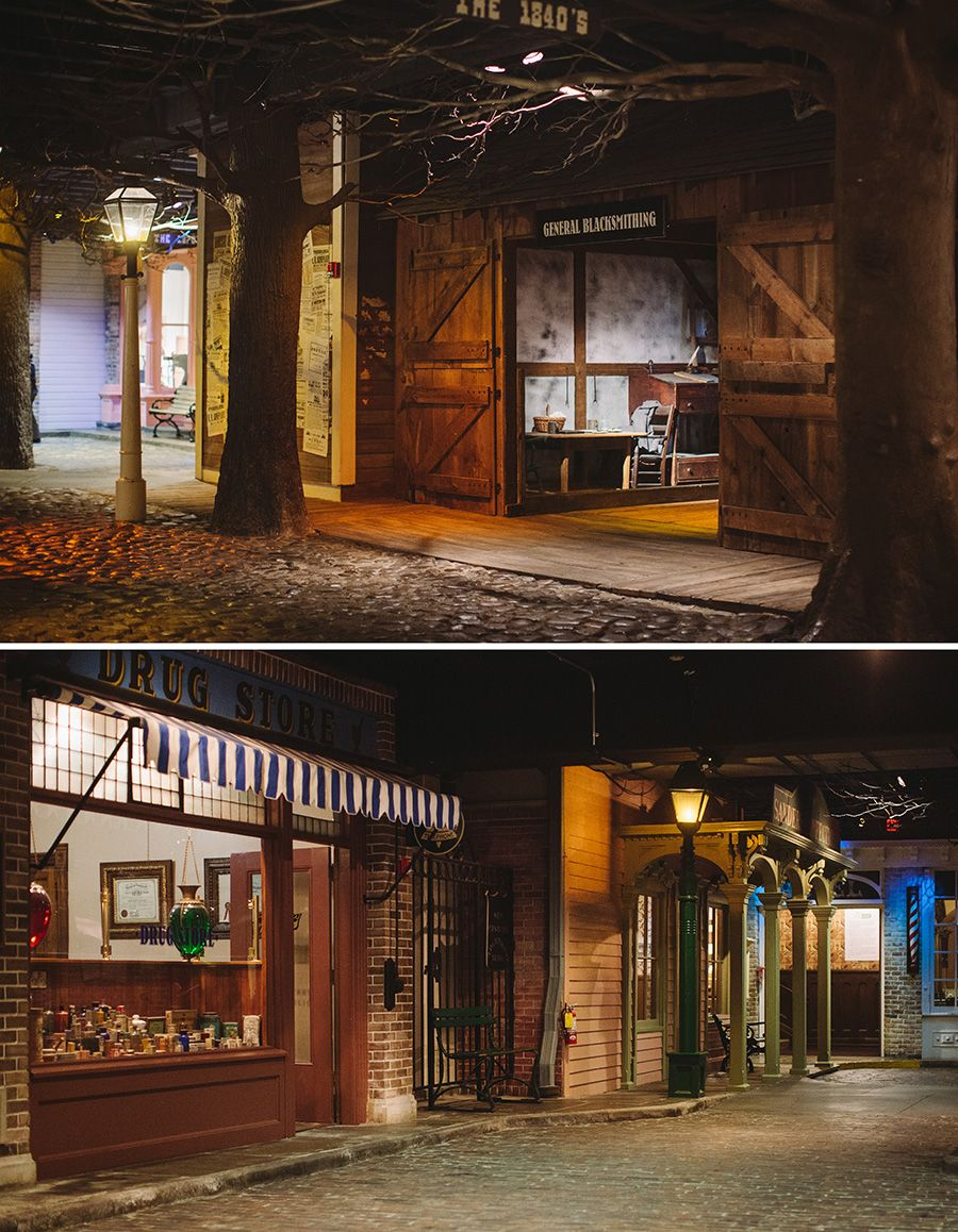Streets Of Old Detroit Exhibit At The Historical Museum Mi