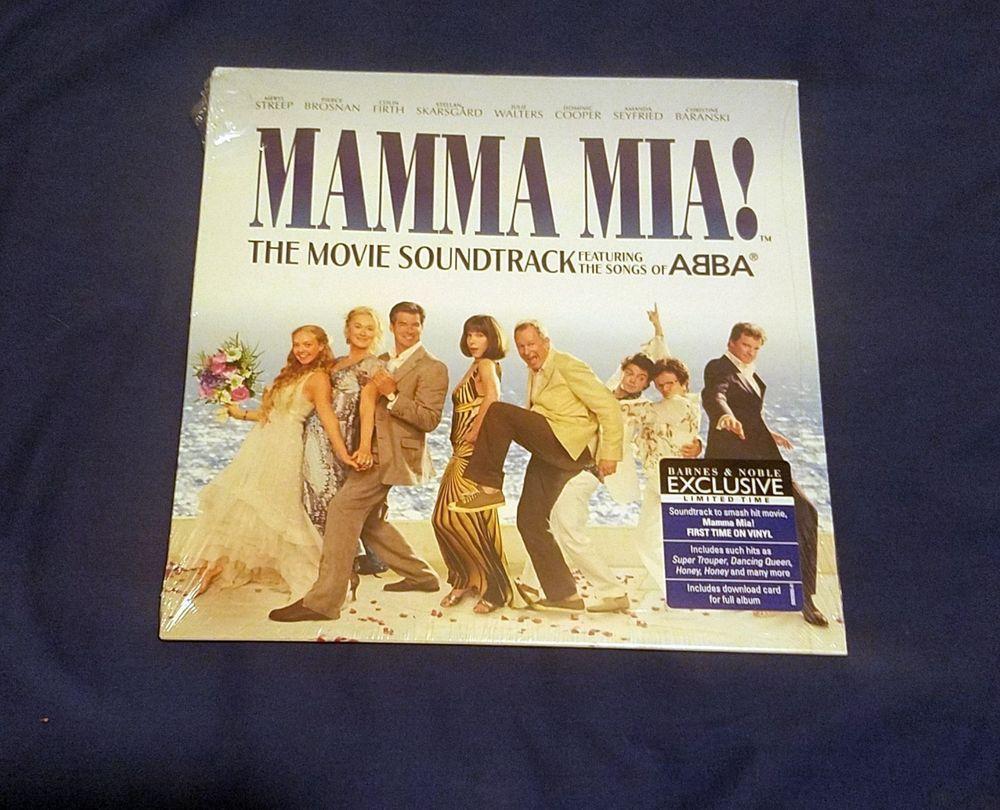 Mamma Mia Original Soundtrack Lp Vinyl Exclusive Limited Songs Of Abba Streep Dream Music Mamma Mia Vinyl