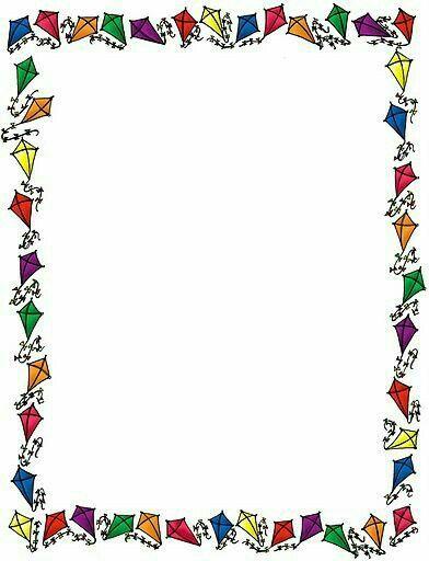 Pin de Naz YILMAZ em Renkli ereveler  Borders frames Page borders e Borders for paper