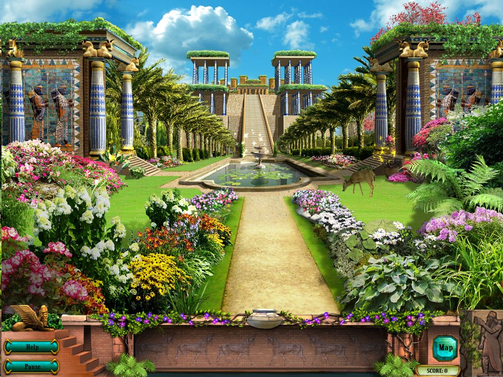 How Big Is The Hanging Gardens Of Babylon